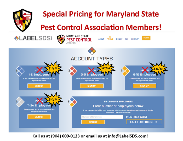 State Association Special Pricing